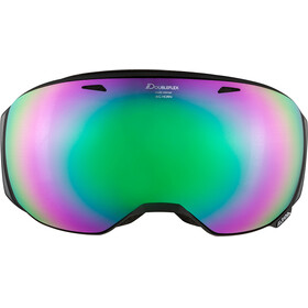 Alpina Big Horn MM Goggles black matt emerald spherical